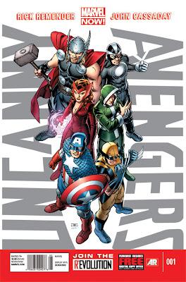 Uncanny Avengers # 1 - Remender John Cassaday