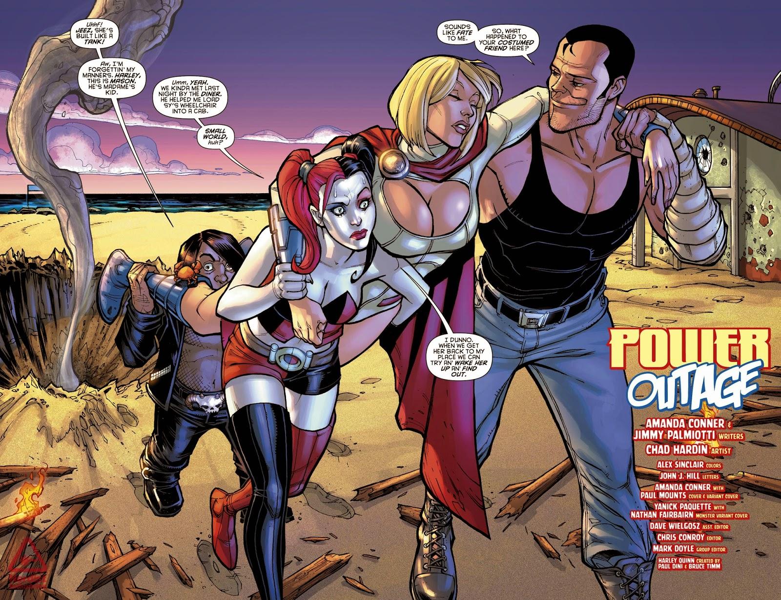 power girl persons comics John
