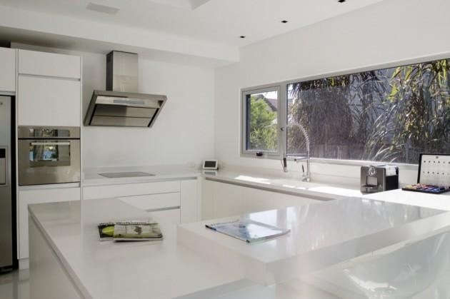 Dise o de cocinas con una gran ventana for Ventanas modernas en argentina
