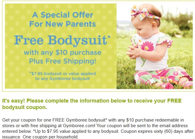 gymboree coupons
