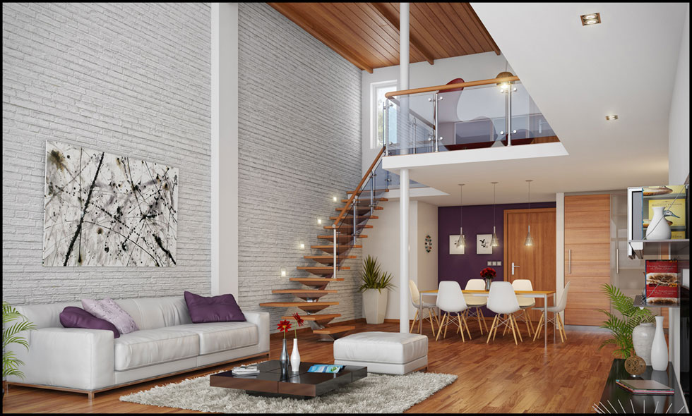 Home styles loft style home decor Loft living room ideas