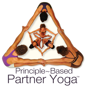 Click Here to Learn More About Principle Based Partner Yoga!