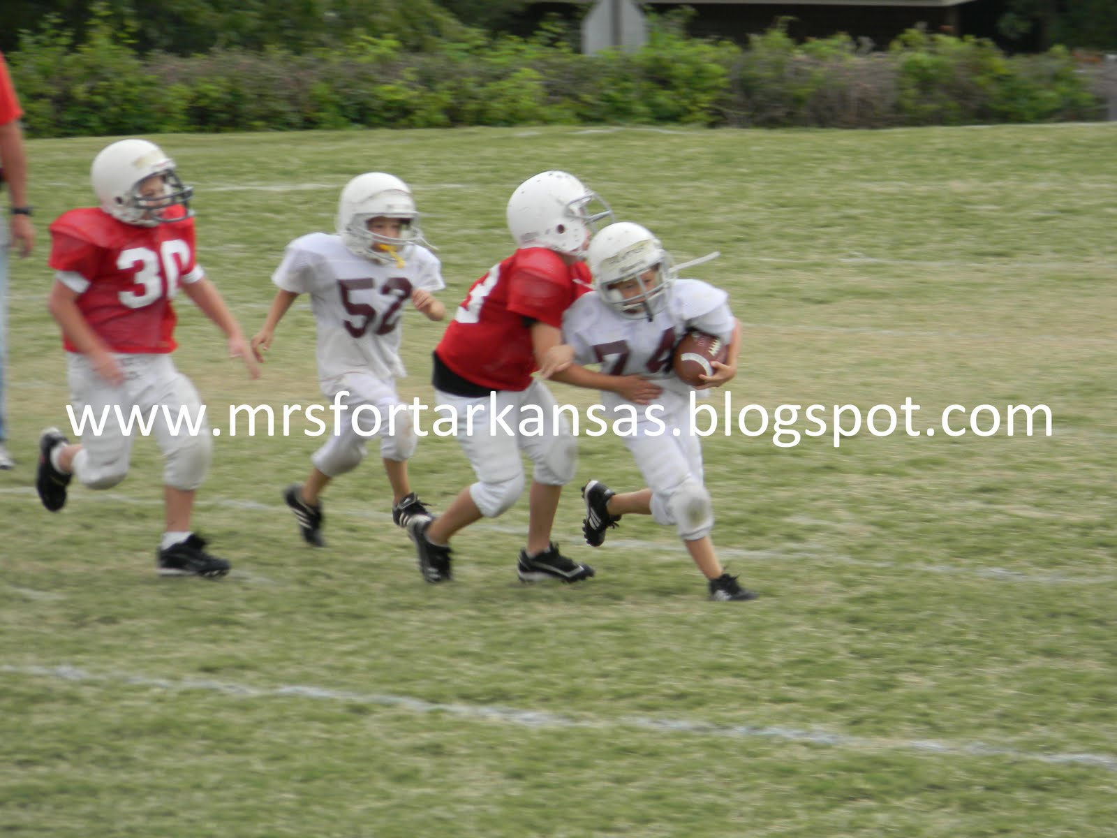 Pee wee football superstar