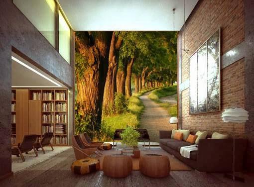 Dale vida a las paredes de tu casa con murales de vinilo etxekodeco - Murales pintados en la pared ...