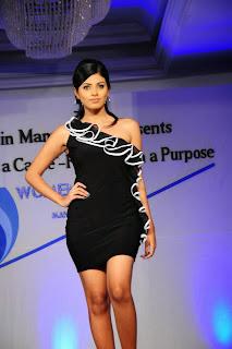 tanasha black mini skirt
