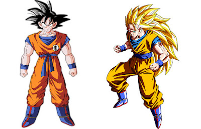 1. Son Goku (Dragon Ball Z)
