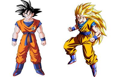 1. Son Goku (Dragon Ball Z)