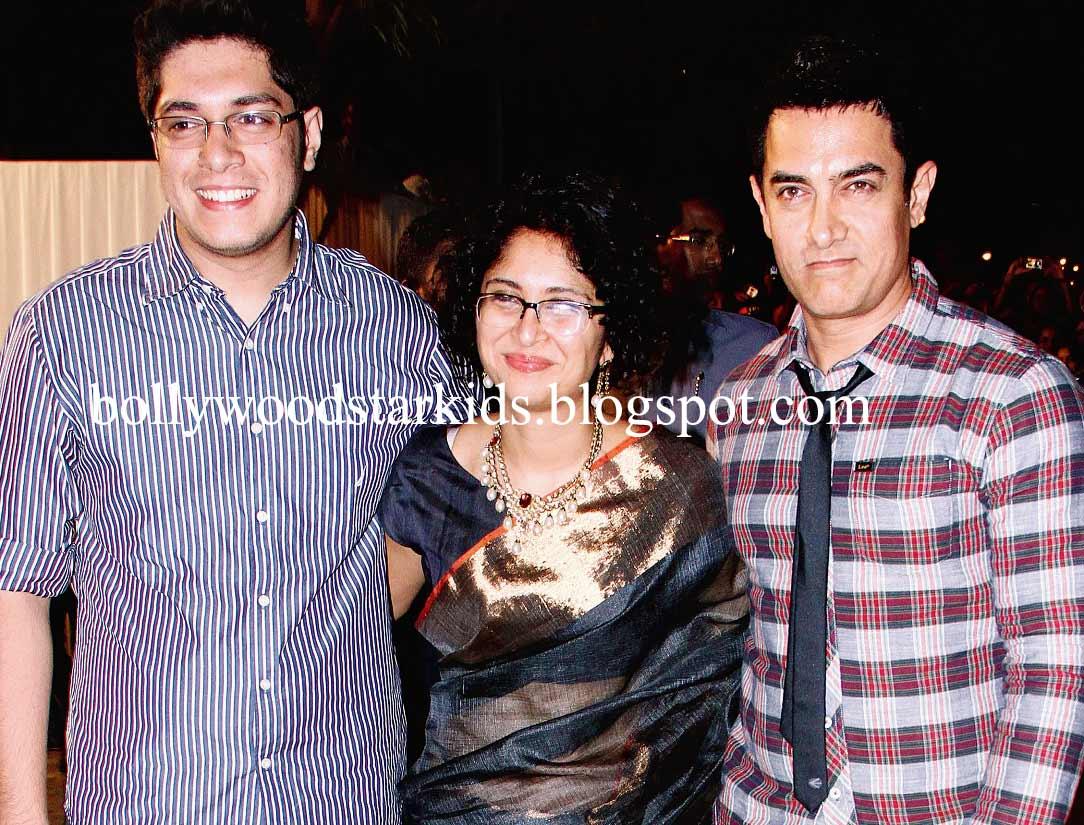 Aamir Khan With Son Junaid