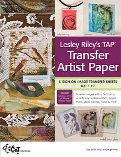 Lesley Riley's Transfer Artist Paper