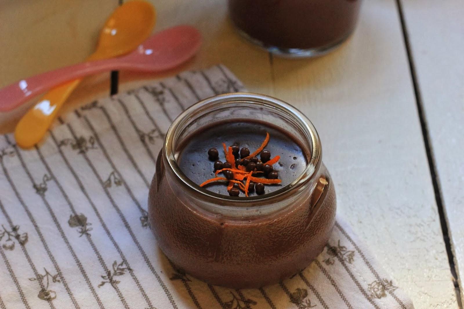 Portakallı Çikolatalı Puding Tarifi