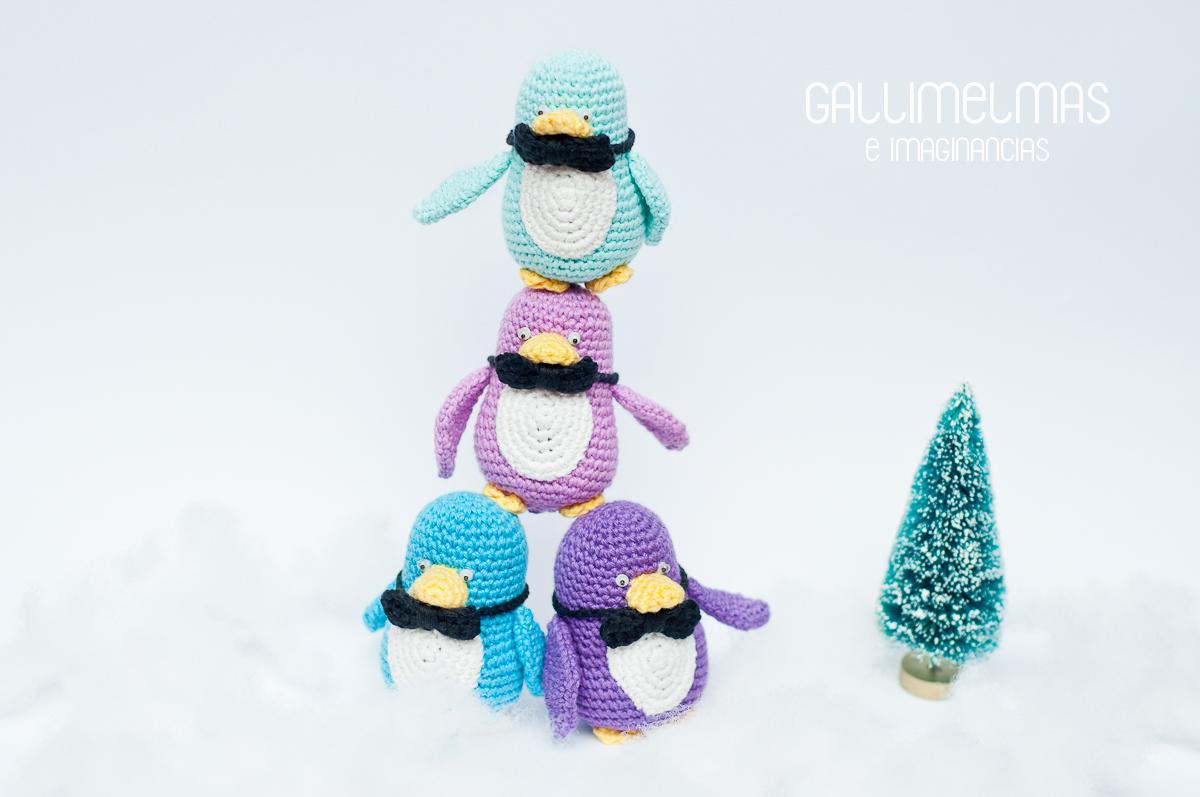 ¡Anímate a tejer a la famosa Famiglia Pingüino!
