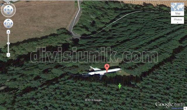 Penampakan Lucu dan Aneh di Google Earth