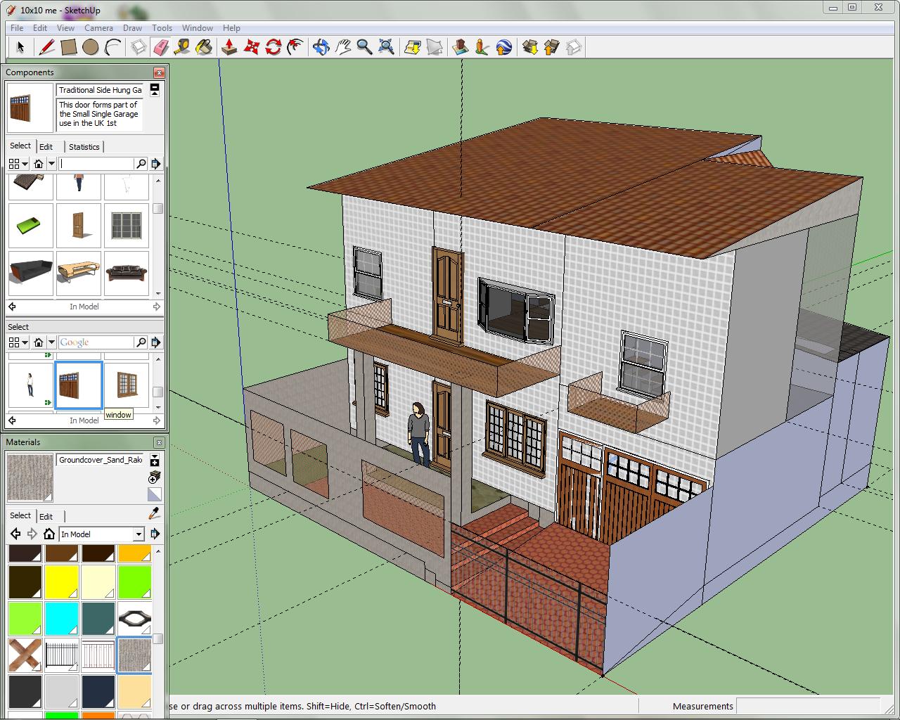 desain rumah minimalis type 90 kavling ukuran 6 m x 8 m