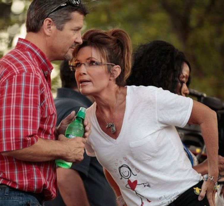 The Immoral Minority: Thin skinned Sarah Palin reveals her vicious ...