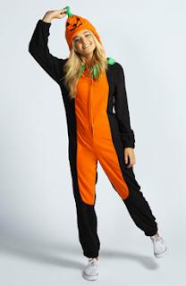 Womens Onesies: Bargain Halloween Costume Onesie from BooHoo