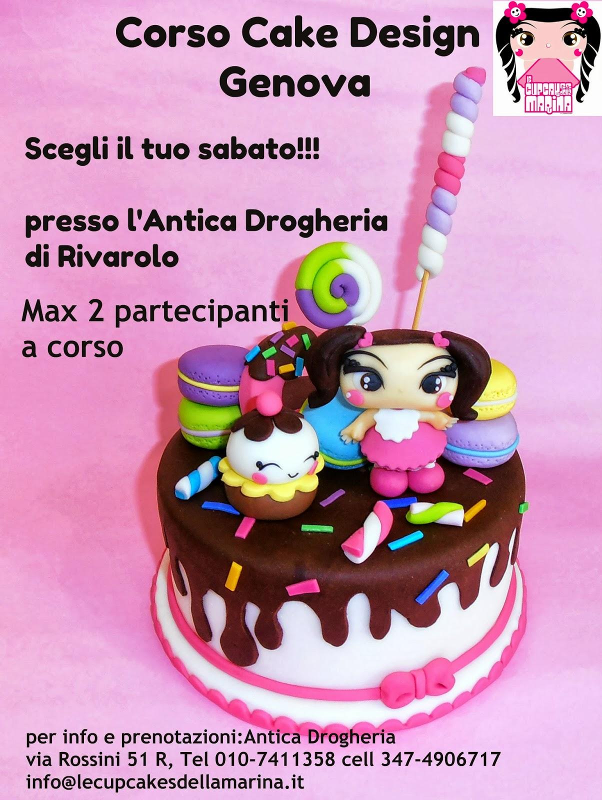 Le Cupcakes della Marina: Corsi Cake Design Milano Roma Genova