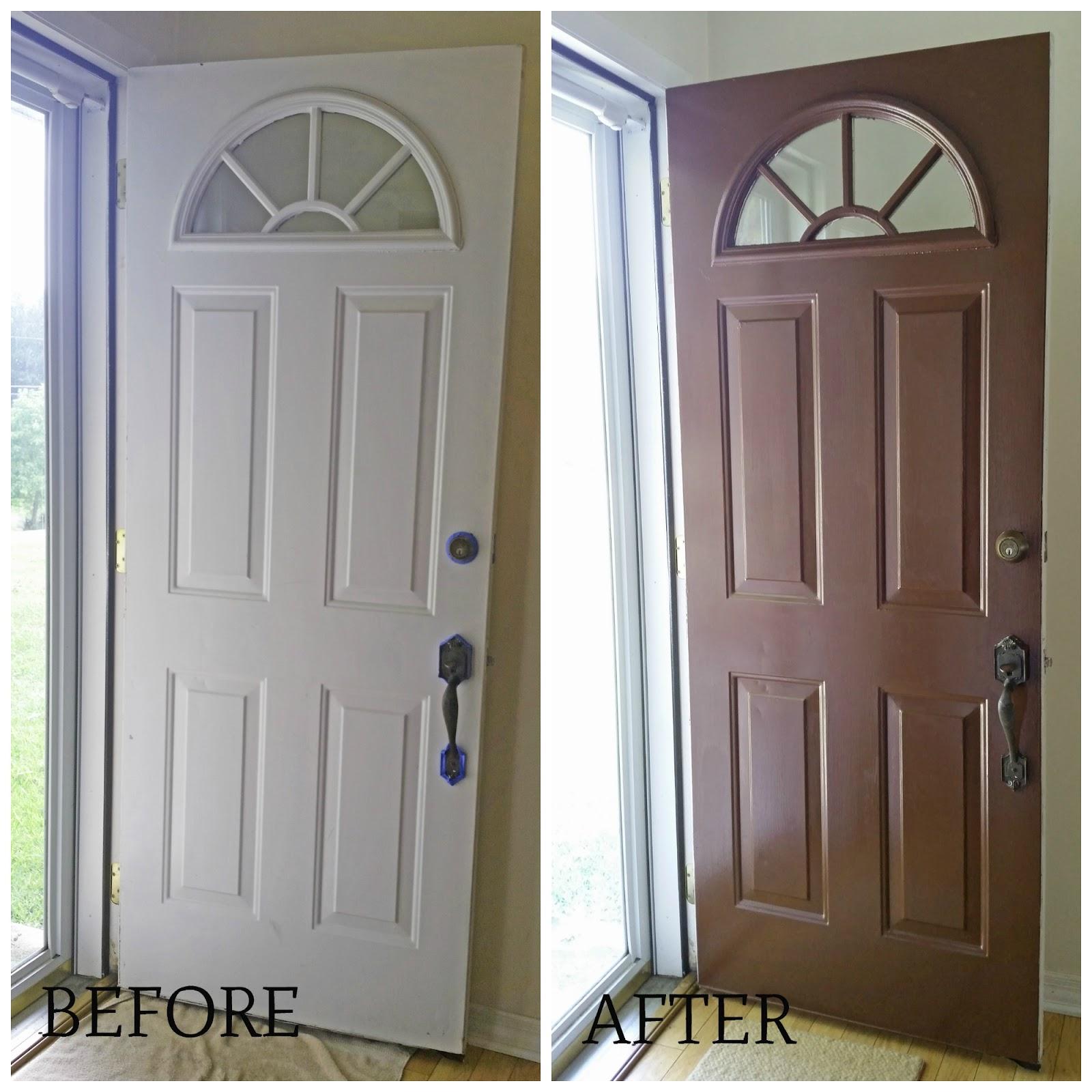 Jcooke Quick Low Cost Home Update Paint Your Metal Front Door