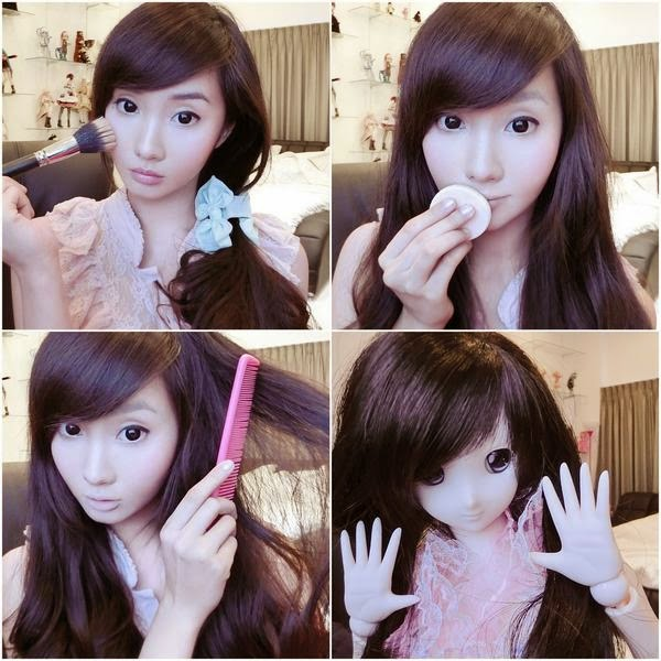 Alodia Gosiengfiao make up transformation