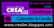 Crealies Challenge Calender &amp; Candy blog