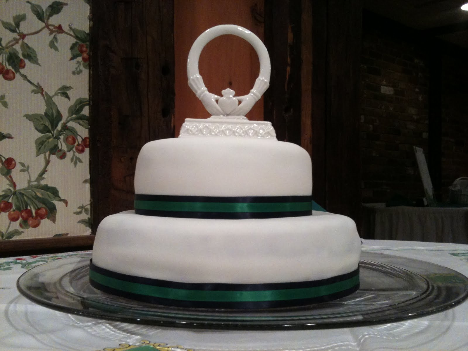 Real McCoy Cakes Irish Wedding Cake