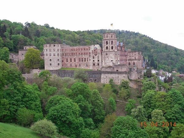Castelul din Heidelberg si alte obiective