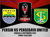 Persib vs Persebaya United Piala Presiden 2015