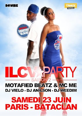 ILCV Party Saison II au Bataclan le 23 juin