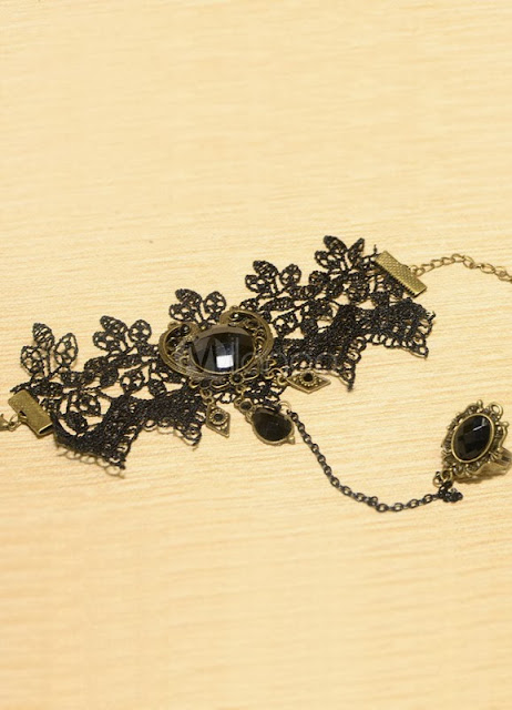 China Wholesale Jewelry - Gothic Lace Lolita Bracelet and Ring