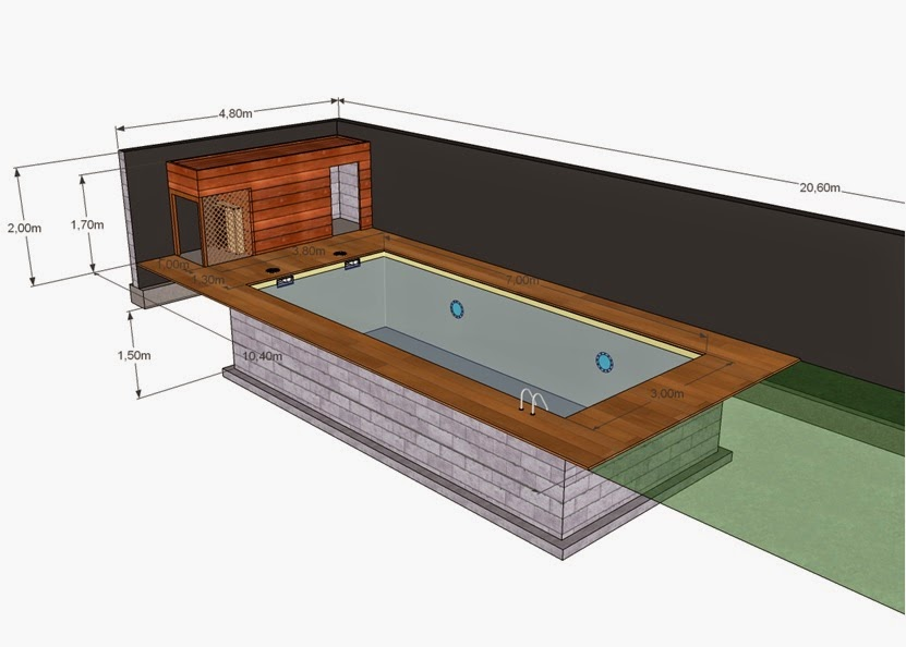 Projet tapes de construction d 39 une piscine en for Autorisation construction piscine