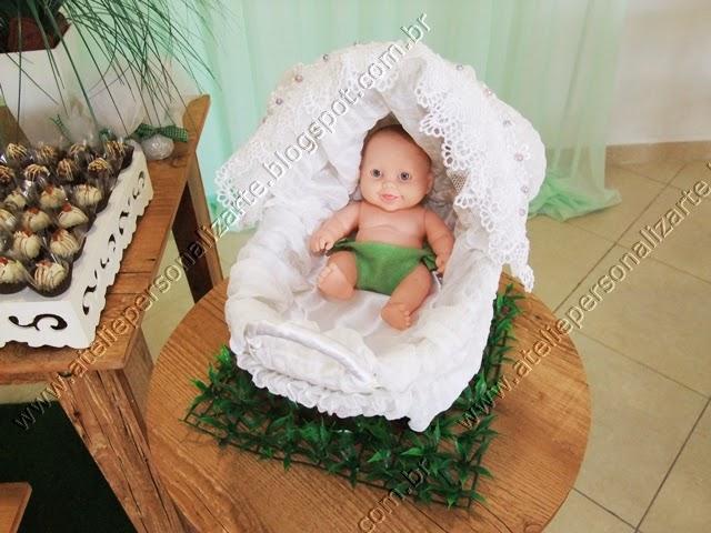 decoracao cha de bebe rustico porto alegre