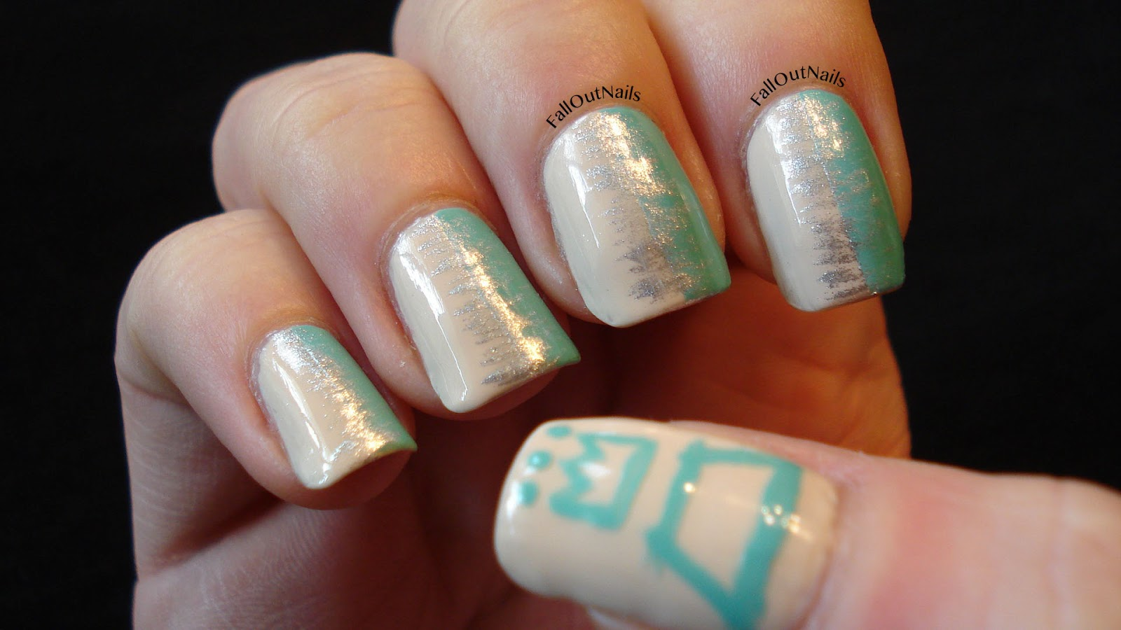 Fall Out Nails: Put on your war paint!