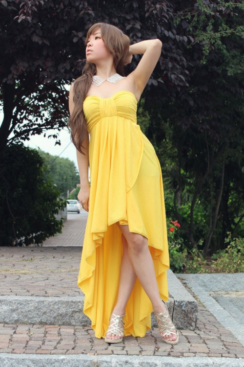 Baju Wanita Korea Maxi Dress