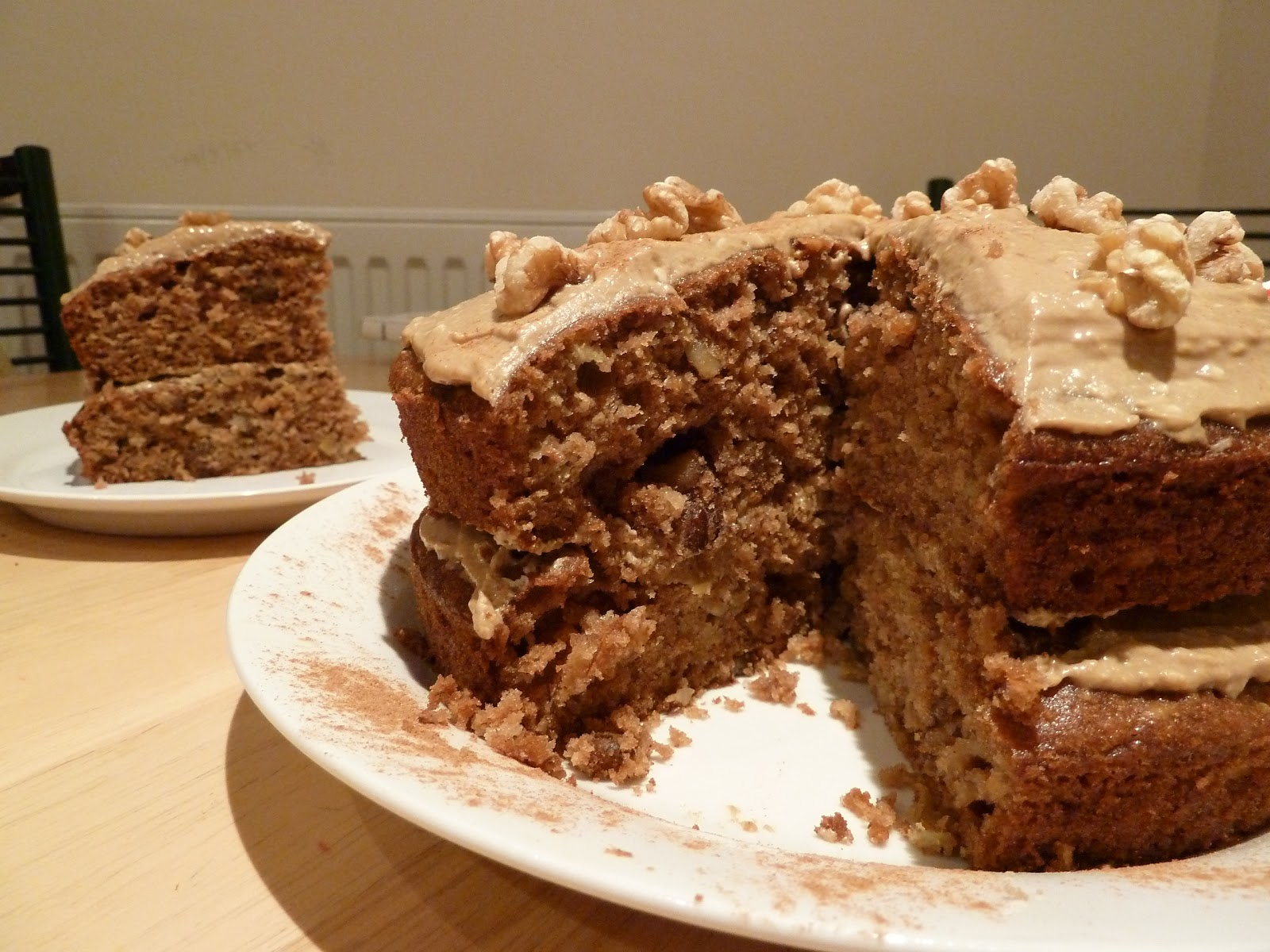 Cakes from Kim: Apple & Walnut Cake: The Pink Whisk's ...