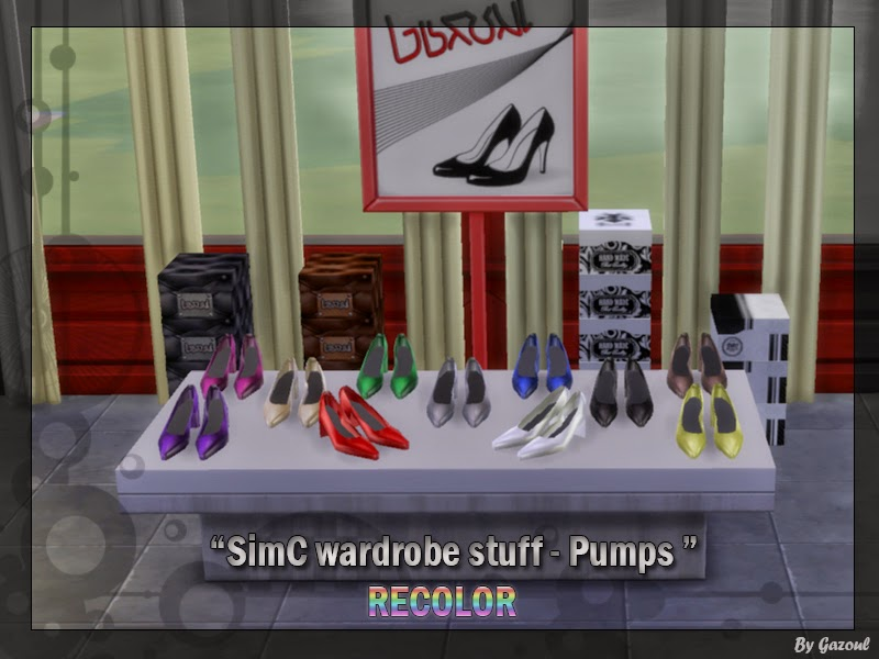 My Sims 4 Blog Decorative Clothing Shoes And More By