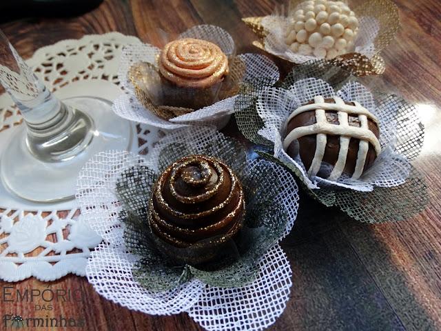 Forminhas 2 camadinhas de tela para doces finos
