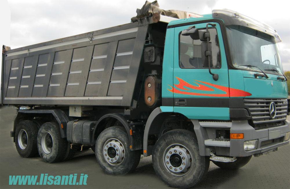 camion usati mercedes con gru