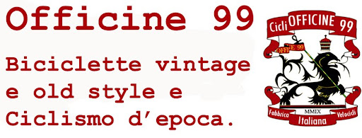 Officine 99 - bici d'epoca, vintage e old style riconvertite in fixed e single speed
