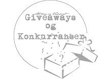 Samleside for giveaways hos Helene