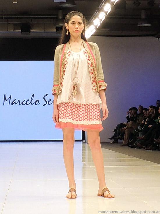 Marcelo Senra faldas primavera verano 2015. Moda verano 2015.