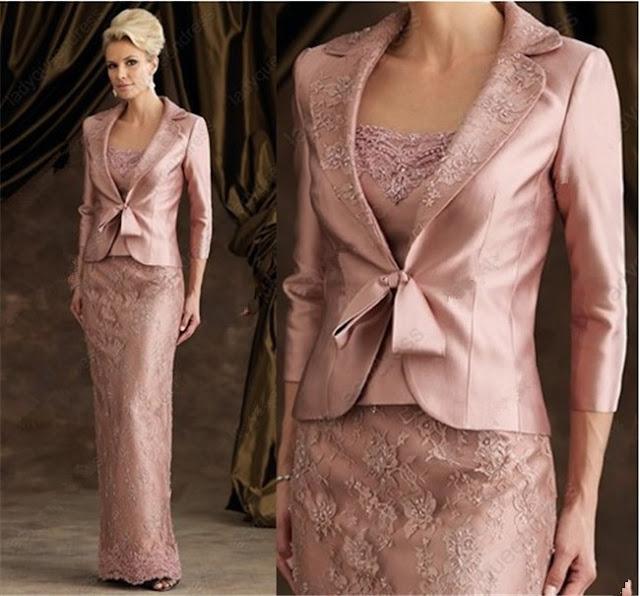 vestido de mãe da noiva com renda