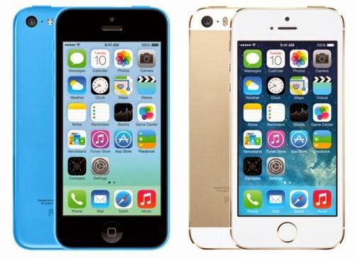 A partire dal 25 ottobre 2013 arriveranno in Italia i due nuovi smartphone iPhone 5S e 5C di Apple