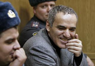 Garry Kasparov à Moscou en 2007 - Image: ARCHIVES/AFP
