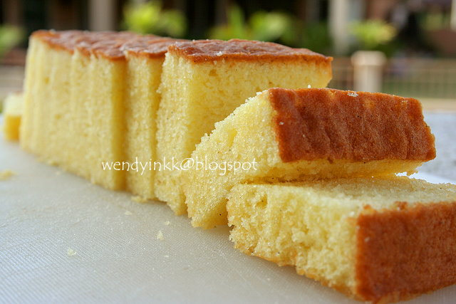 Table for 2.... or more: Mrs NgSK's Butter Cake - Butter Cake # 3