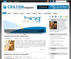 Crayon WordPress Theme