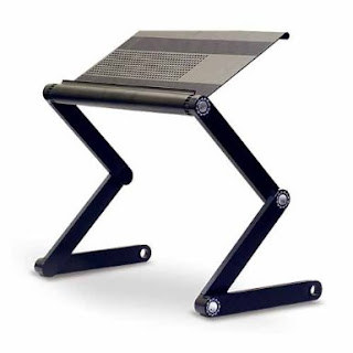 Charming Adjustable Vented Laptop Table