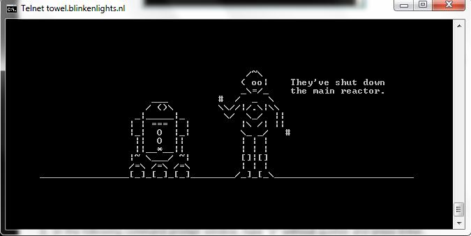 watch ascii star wars in windows xp windows 7 and windows