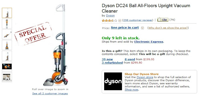 dyson vacuum coupons dyson dc24 coupon. Black Bedroom Furniture Sets. Home Design Ideas