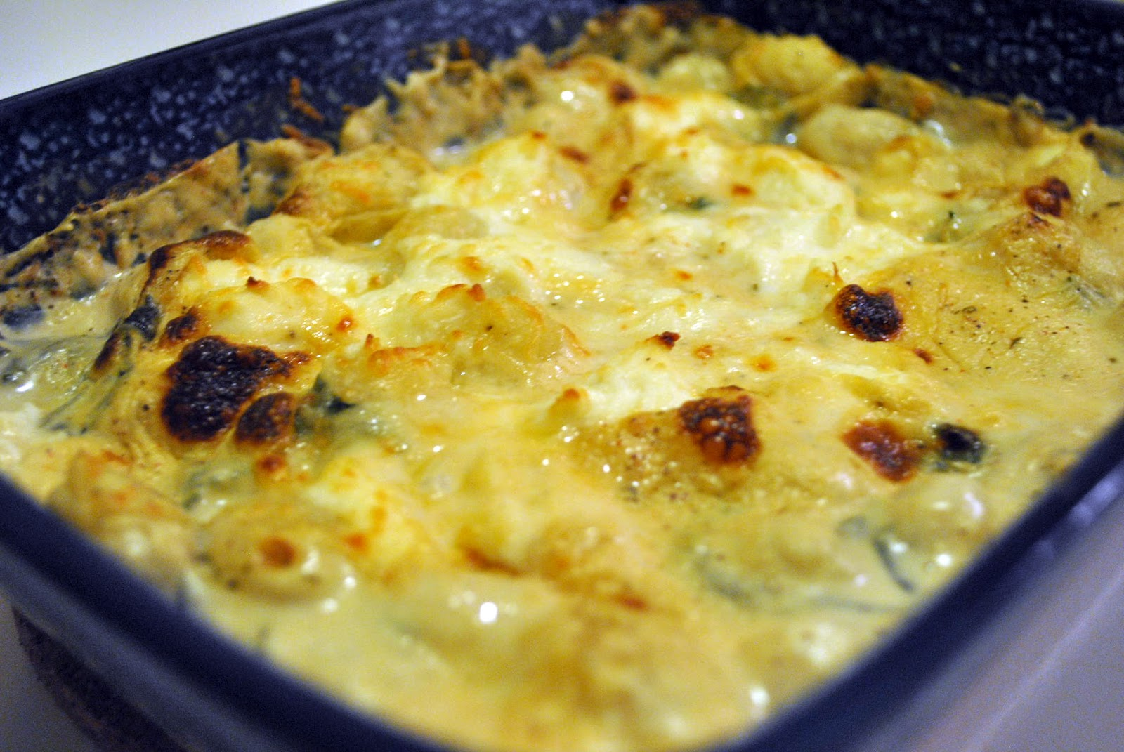 Creamy Parmesan & Basil Baked Gnocchi with Spinach - {Progresso Recipe ...