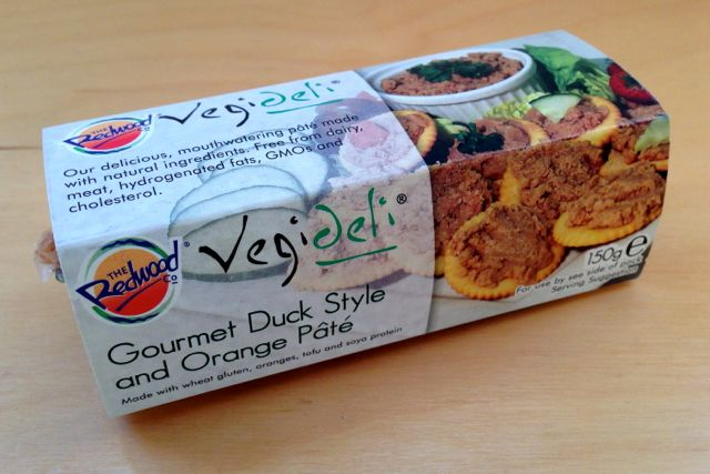 Redwood Vegi-Deli Gourmet Duck Style and Orange Pate