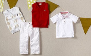 MyHabit: Save Up to 60% off Kanz for Baby Boys: a winning collection just right for baby boys. He'll be cozy and happy for the rest of the summer.